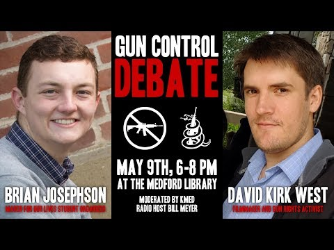 Gun Control Debate - May 2018