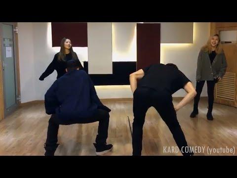 KARD Funny Clip #6 - BM and J.Seph Twerking Cut