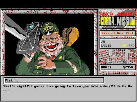 cobra mission panic in cobra city boss fight 1 youtube