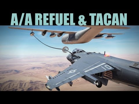 AV-8B Harrier: Air To Air Refueling & TACAN Guide | DCS WORL