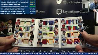 2017 Topps Diamond Icons & Panini National Treasures Baseball 3 Box Break #5 – TIERED RANDOM TEAMS