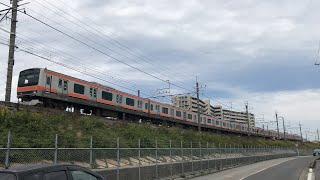 [Japan Railway]JR武蔵野線E231系MU2編成@三郷 JR Musashino Line Type E231 Train at Misato