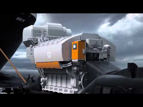 Most efficient four-stroke diesel engine: Wärtsilä 31 engine