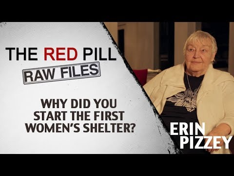 Why Did You Start The First Women's Shelter? PART 1 | Erin Pizzey #RPRF
