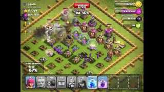 Clash of Clans Record Breaking Loot 1,093,000 resources BdG