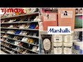 SHOP WITH ME * TJ MAXX Name brand shoes * MARSHALLS High End makeup Pixi products MAY 2019