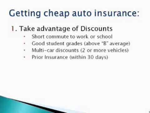(Auto Insurance In Massachusetts) How To Get CHEAP Insurance