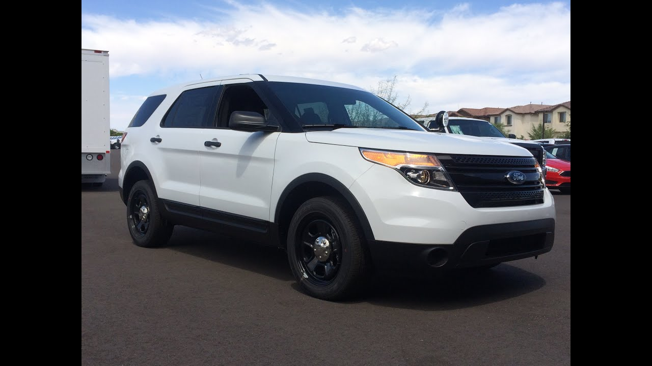 Ford Explorer Cop Car For Sale