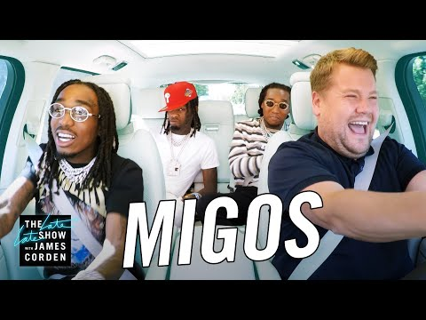 Roxy Romeo - WATCH: Migos Take Over James Corden's Carpool Karaoke!