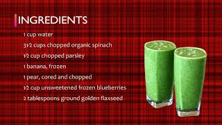Alive and Well: Greens and Fruit Smoothie Healthy Recipe | Dr. Martha Howard