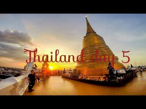 Thailand day 5 | The Golden Mountain (Wat Saket)