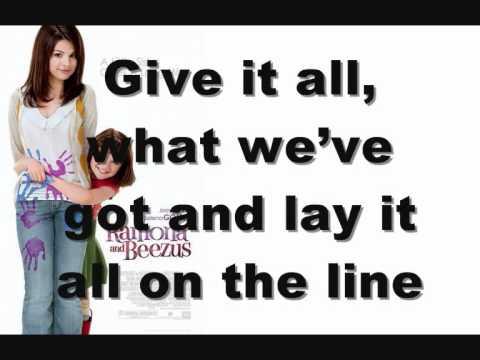 Selena Gomez - Live like there's no tomorrow (KARAOKE)