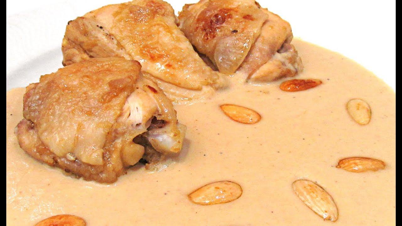 Pollo con manzana y almendras viyoutube - Pollo con almendras facil ...