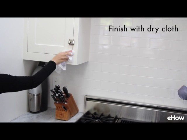 Easy to Make Homemade Kitchen Cabinet Cleaner | eHow