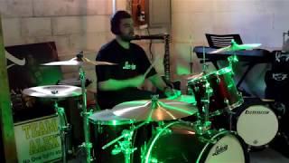 Sam- Jason Aldean- Rearview Town- Drum Cover