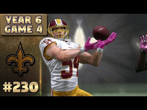 Saints vs Redskins Highlights (S6,G4) | Madden NFL 17 New Orleans Saints Franchise Ep. 230
