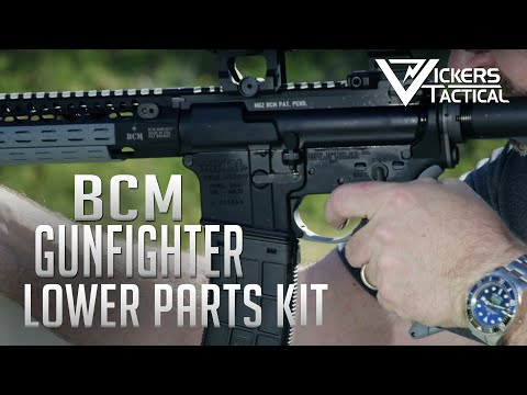 BCMGUNFIGHTER™ AR-15 Enhanced Lower Parts Kit - Black