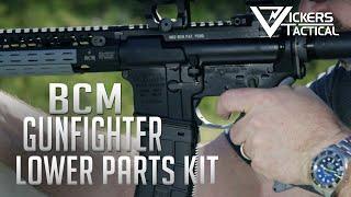 BCM GUNFIGHTER ENHANCED LOWER PARTS KIT