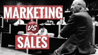 Lessons on Marketing and Sales by Peter Drucker