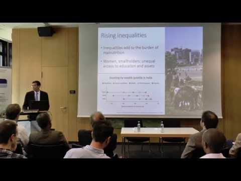 IFPRI-Director Shenggen Fan on Tackling Hunger and Malnutrition in Middle Income Countries
