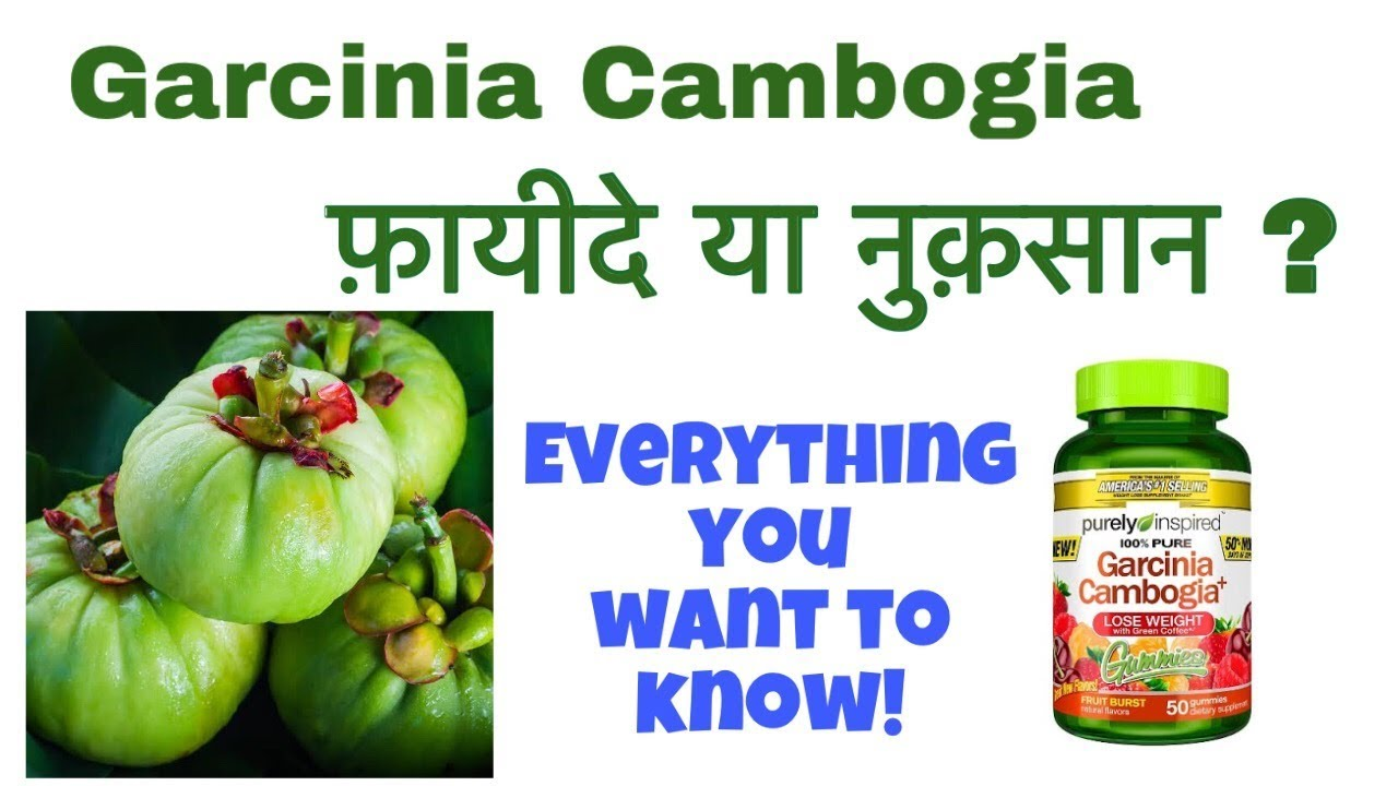Garcinia Cambogia Benefits In Hindi By Bindas Fit