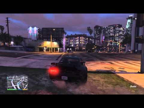 GTA V - Lucky Barrel Roll on peaple (Funny)
