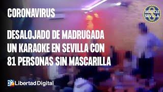 Desalojado de madrugada un karaoke en Sevilla con 81 personas, 9 menores