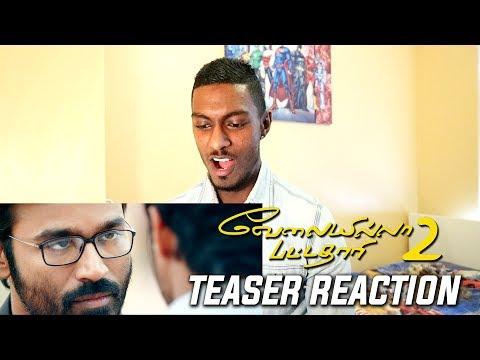 Velai Illa Pattadhaari 2 Teaser Reaction & Review | Dhanush | PESH Entertainment
