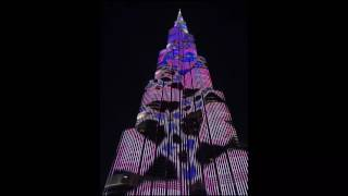 Burj Khalifa, lightshow