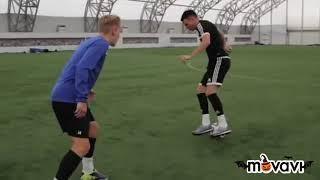 Как играют содержатели канала  F2. Обучение фристайлу футбольные видео Мир футбола
