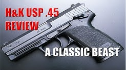 H&K USP .45 Review - A Classic Beast