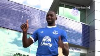 Yannick bolasie's first day at everton