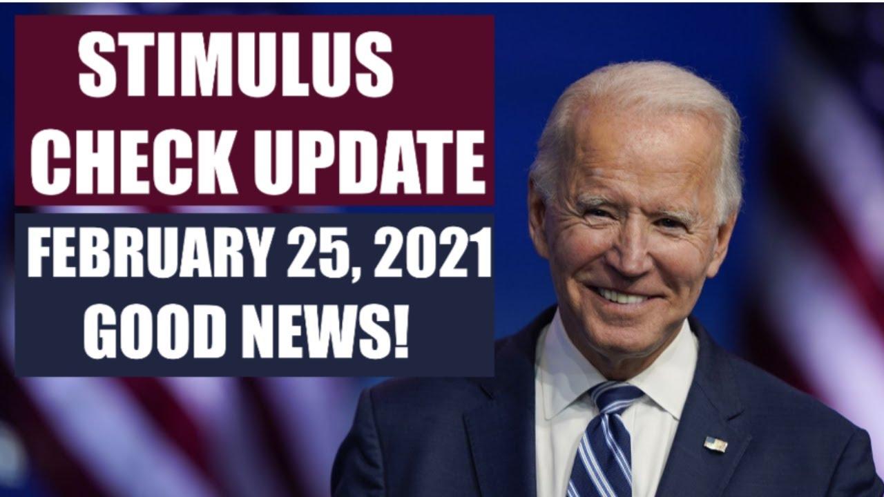 Download $1400 THIRD STIMULUS CHECK UPDATE   FEBRUARY 25 UPDATE FOR 3RD STIMULUS CHECK (STIMULUS PACKAGE)