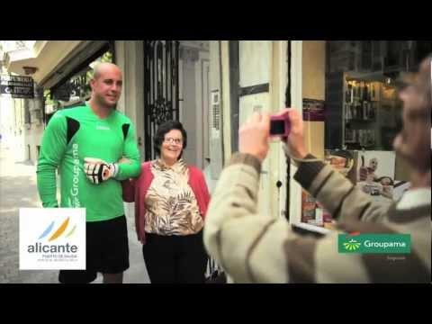 Groupama Seguros estrena su campaña de publicidad con Pepe Reina