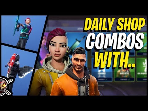 Daily Item Shop Combos With SHADE And MAVERICK In Fortnite!