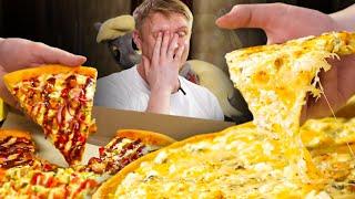 САМАЯ ДЕШЕВАЯ пицца в Спб?! Из чего она? Супер-Пицца. Славный Обзор.