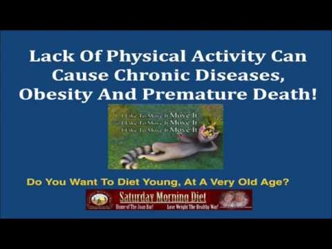 Lack Of Physical Activity Can Cause Chronic Diseases, Obesity & Premature Death