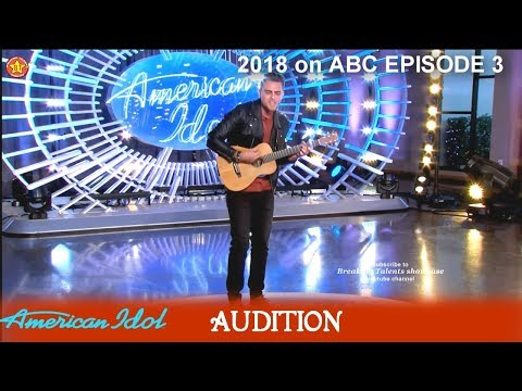 Ricky Manning sings GREAT Original Song  Audition American Idol 2018 Episode 3