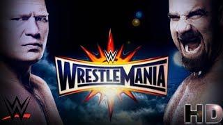 Brock Lesnar Vs Goldberg Full Match WrestleMania 33 HD