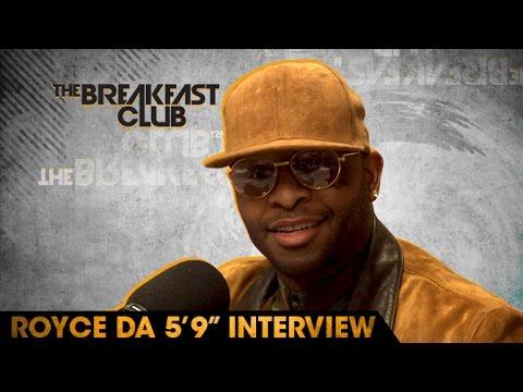 "Royce Da 5'9"" Interview at The Breakfast Club Power 105.1 (04/19/2016)"