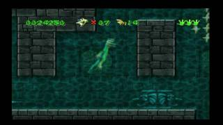 Gex Walkthrough part 12: Tonight you sleep with the fishes.