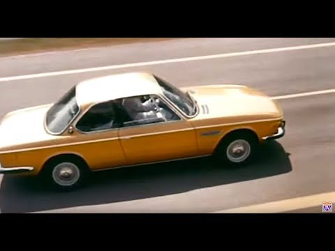 BMW E9 3.0 CSI Review Includes BMW Official Factory Footage BMW 3.0 CSi Commercial