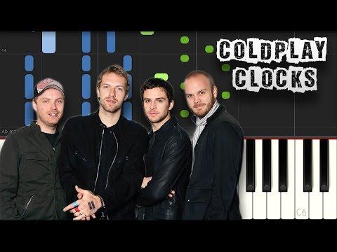 Coldplay - Clocks - Piano Tutorial Synthesia (Download MIDI)