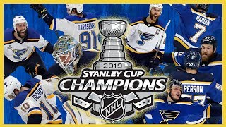 LIVE: Blues win first Stanley Cup in team history!