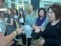 Laura Canavan wins the Rock, Paper, Scissors Competition