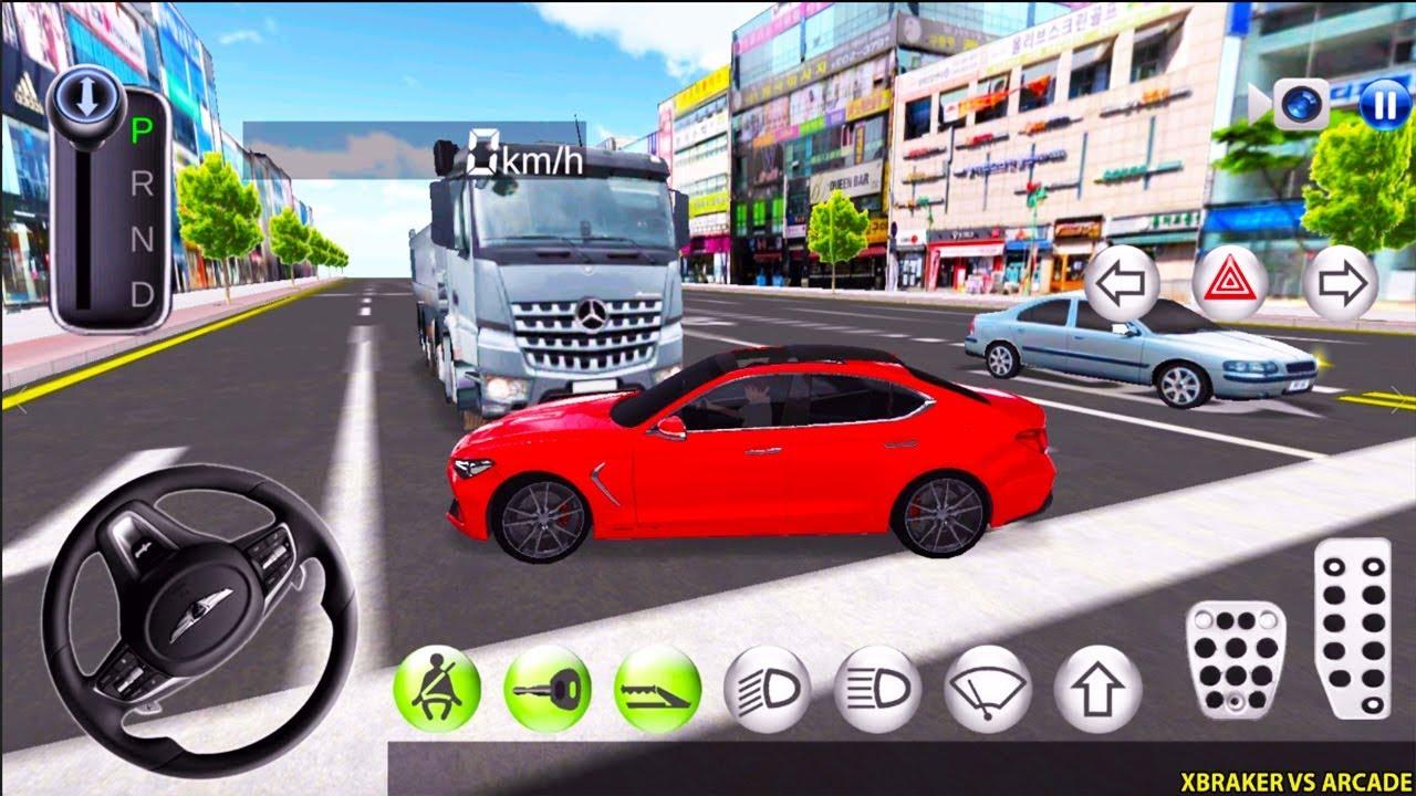 Korean Car Driving Simulator - New Paint Unlocked - Driver's License Examination