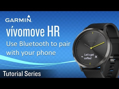 Tutorial - Vívomove HR: Use Bluetooth To Pair With Your Phone