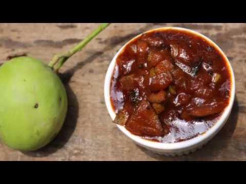 Mango Thokku / Sweet and Spicy Raw Mango Chutney