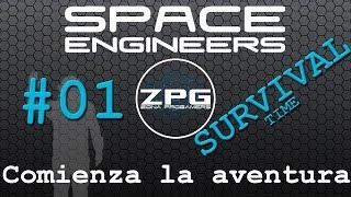 Space Engineers en español # Survival Ep01 - Comenzamos la aventura!