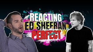 VOCAL COACH reacts to ED SHEERAN singing PERFECT